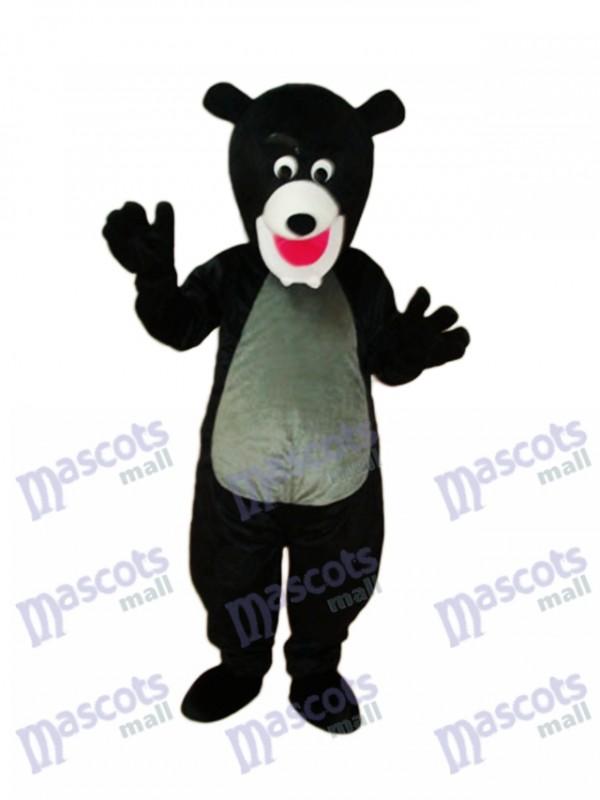 Black Bear Mascot Adult Costume