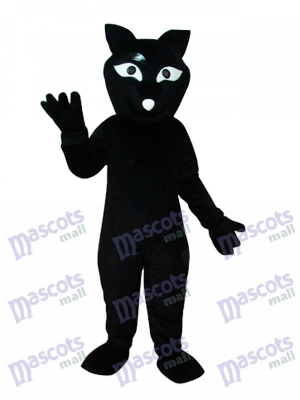 Black Beaver Mascot Adult Costume