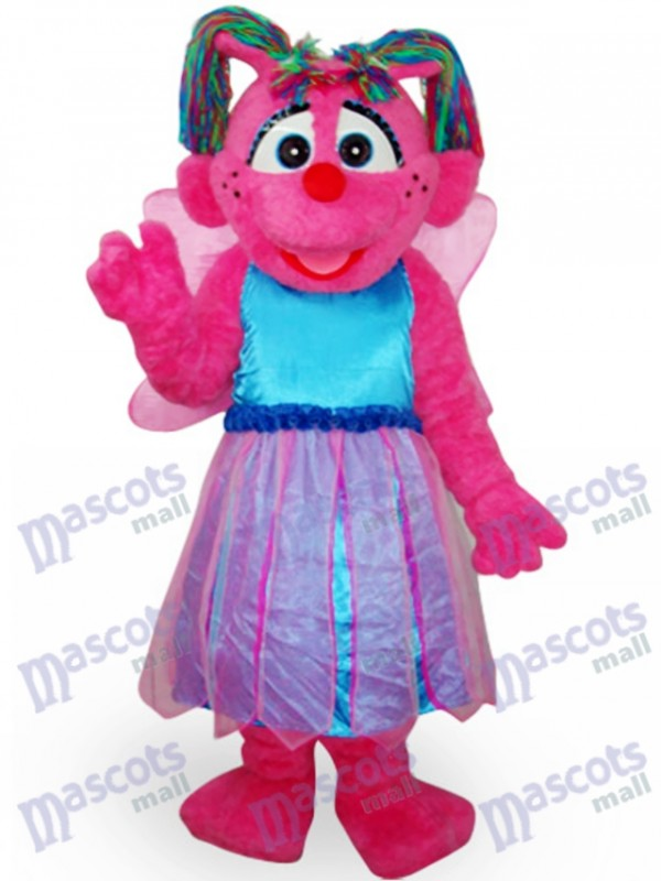 Butterfly Girl Short Plush Adult Mascot Costume