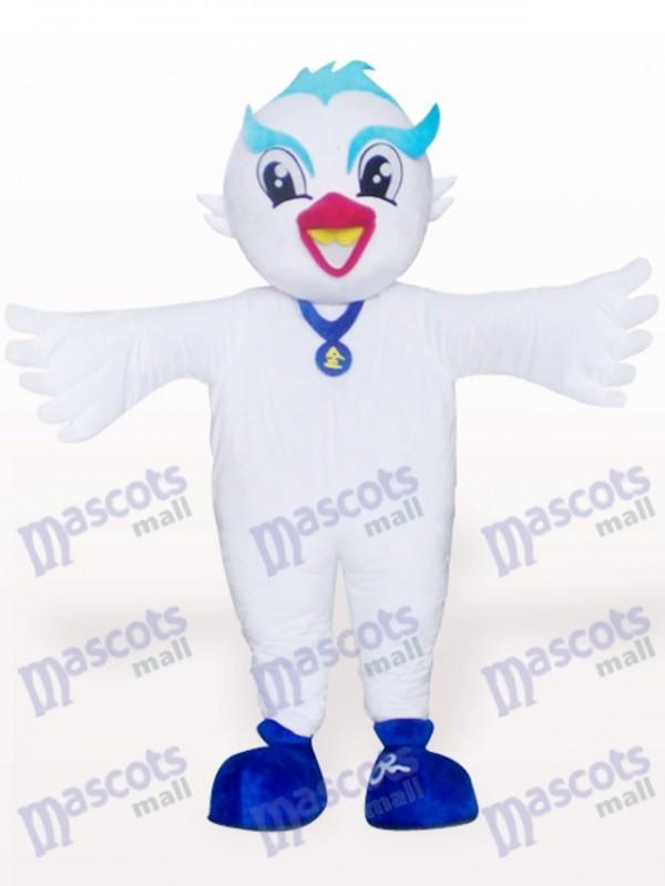 Dove Bird Adult Mascot Costume