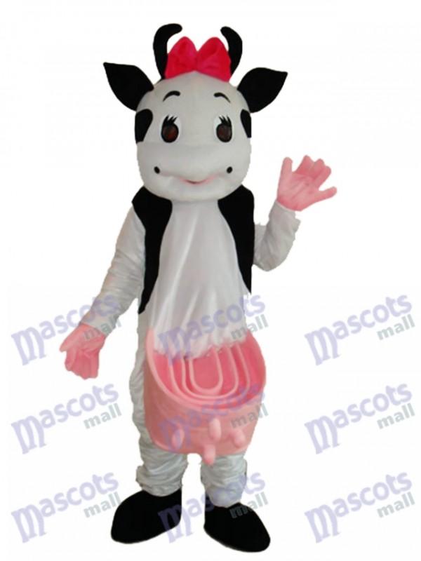 Cow Mascot Adult Costume