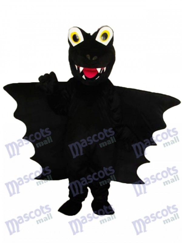 Black Thorn Dinosaur Mascot Adult Costume