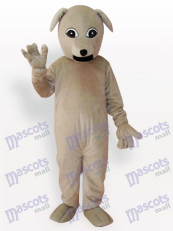 Courser Dog Short Plush Adult Mascot Costume