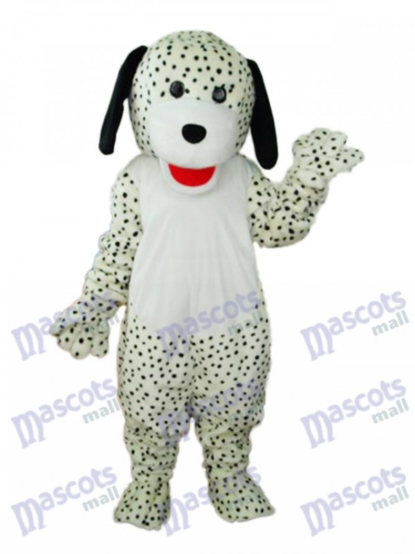 Spotted Colourful Dog Mascot Adult Costume
