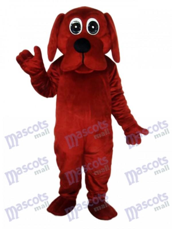 Rooney Brown Dog Mascot Adult Costume