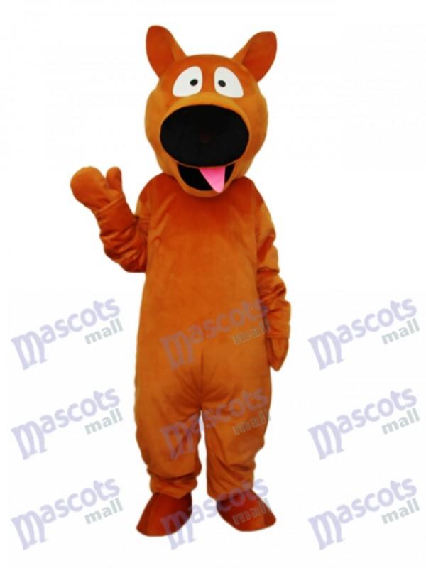 Brown Dog Mascot Adult Costume