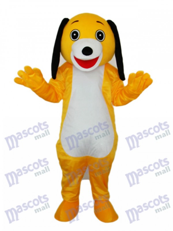 Small Brown Dog Mascot Adult Costume