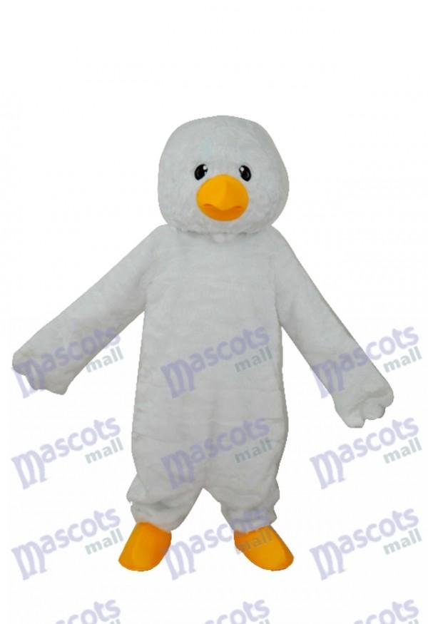 Super Soft Plush White Chick Adult Mascot Costume