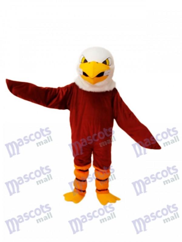Brown Eagle Mascot Adult Costume