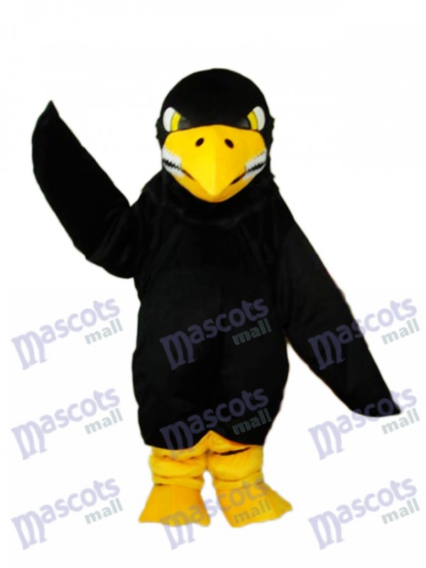 Black Eagle Mascot Adult Costume