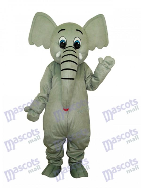 Little Grey Elephant Mascot Adult Costume