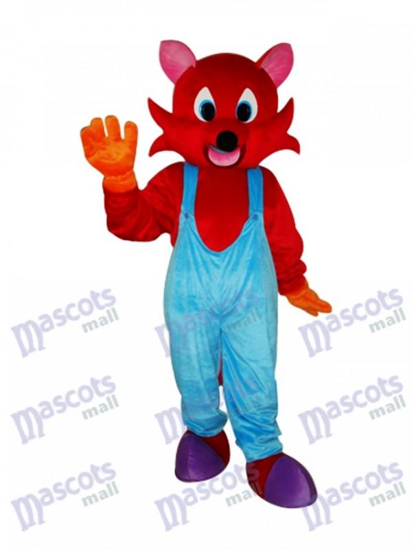 Red Fox Mascot Adult Costume