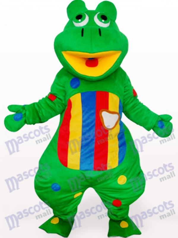 Grog With Colorful Belly Adult Mascot Costume