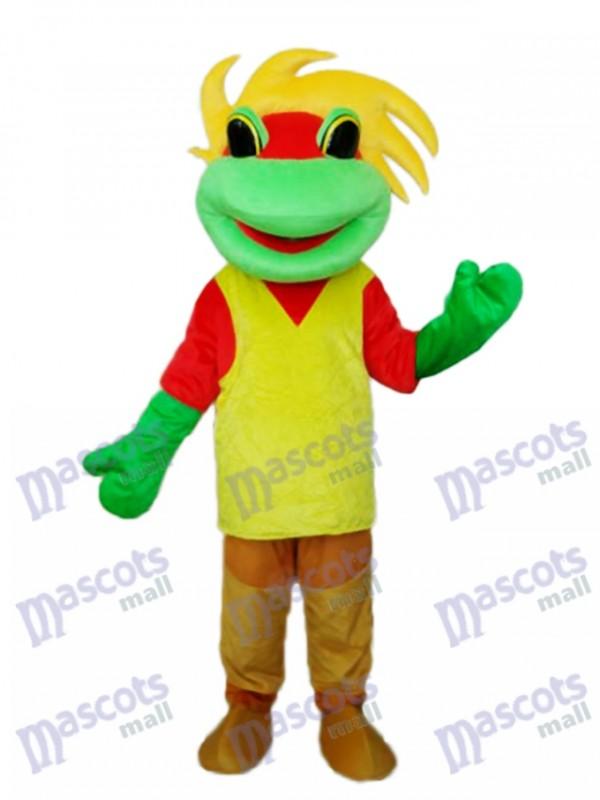 Frog Prince Mascot Adult Costume