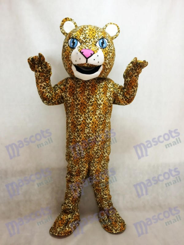 Realistic Animal Jaguar Mascot Costume