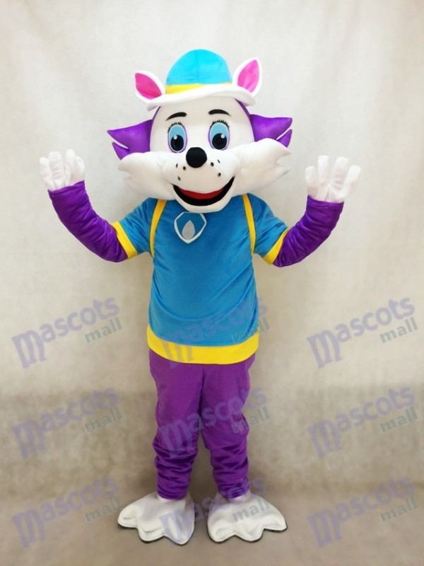 Paw Patrol Husky Dog Everest Mascot Snowy Mountain Pup Cartoon Costume