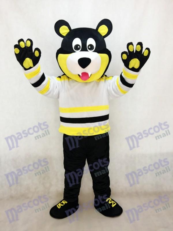Estevan Bruins Bear Ice Hockey Mascot Costume