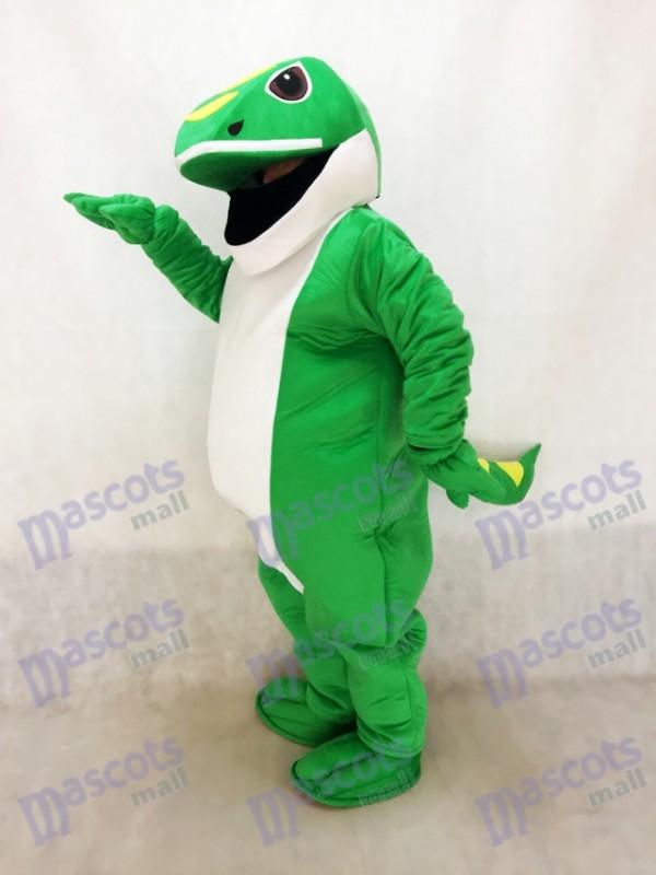 Green Gecko Mascot Costume
