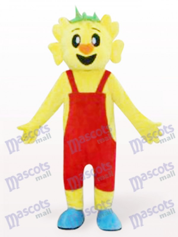 Orange Hair Koala Adult Mascot Costume