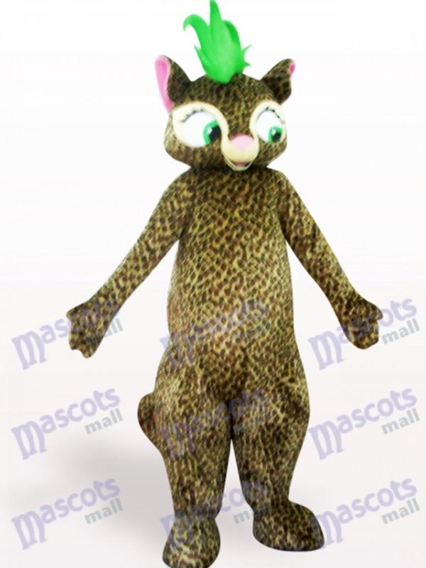 Beautiful Leopard Adult Mascot Costume