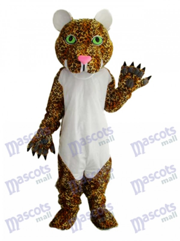 Cheetah Mascot Adult Costume