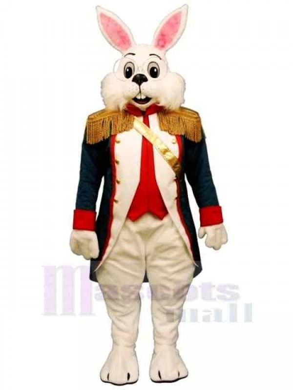 Colonel Wendell Rabbit Easter Bunny Mascot Costume