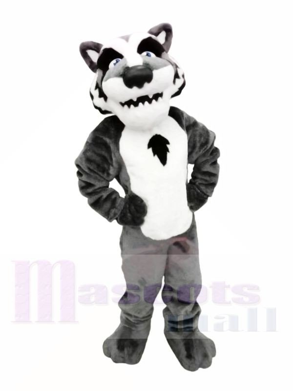 College Lightweight Wolf Mascot Costumes