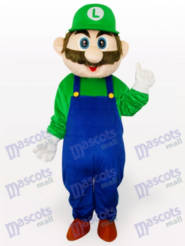 Super Mario Bros Anime Adult Mascot Costume