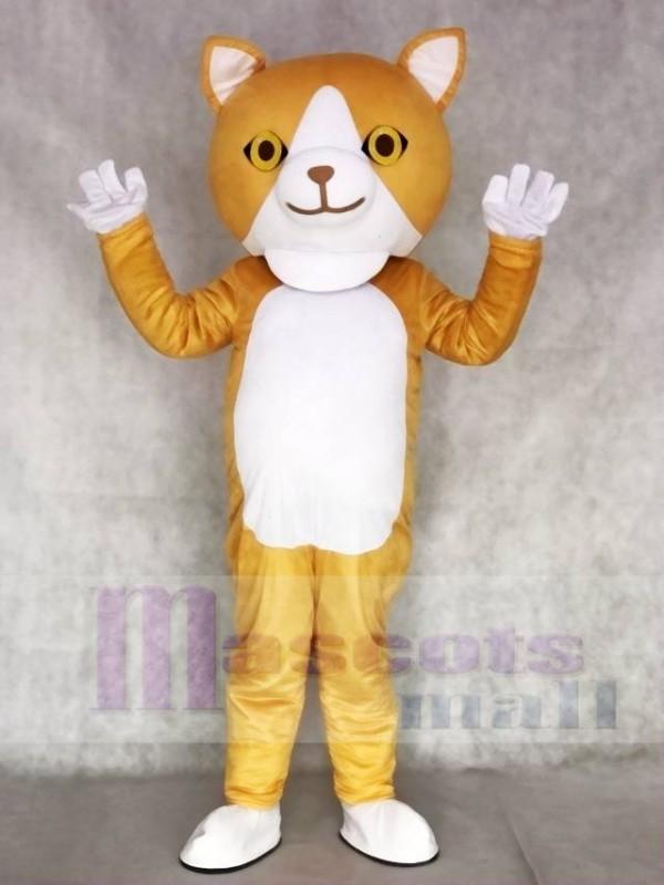 Happy Cat Mascot Adult Costumes Animal