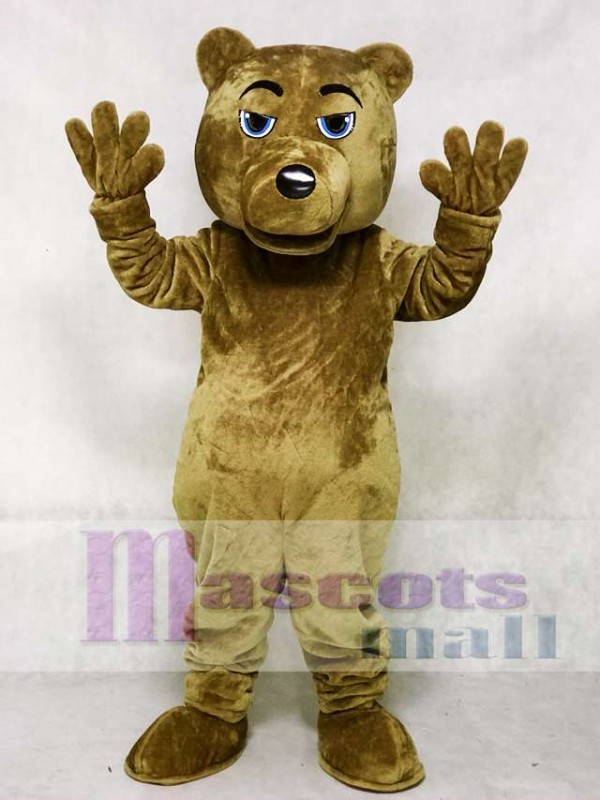 UCLA Dark Brown Bear Mascot Costume
