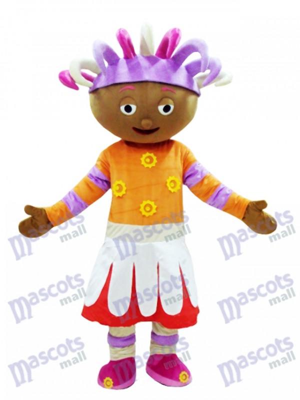 Upsy Daisy Mascot Costume In The Night Garden Mascot Costume