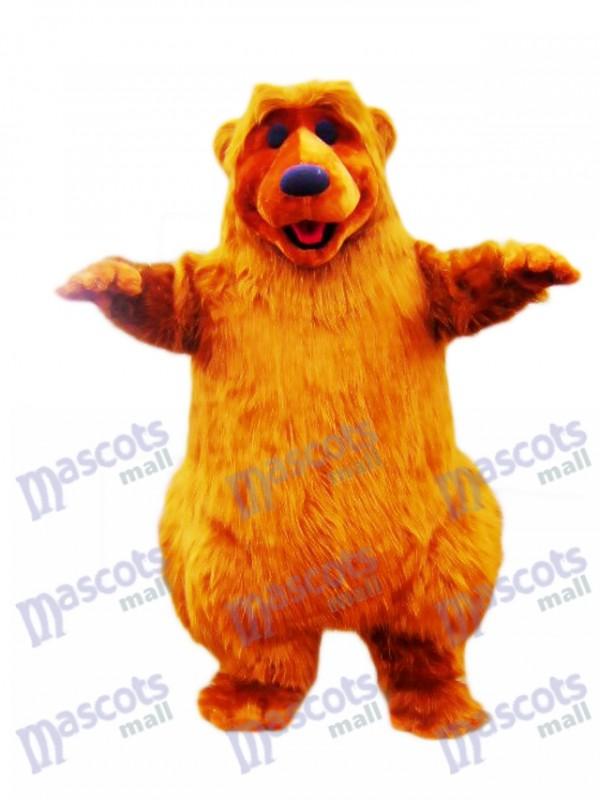 Light Brown Bear Mascot Costume Animal