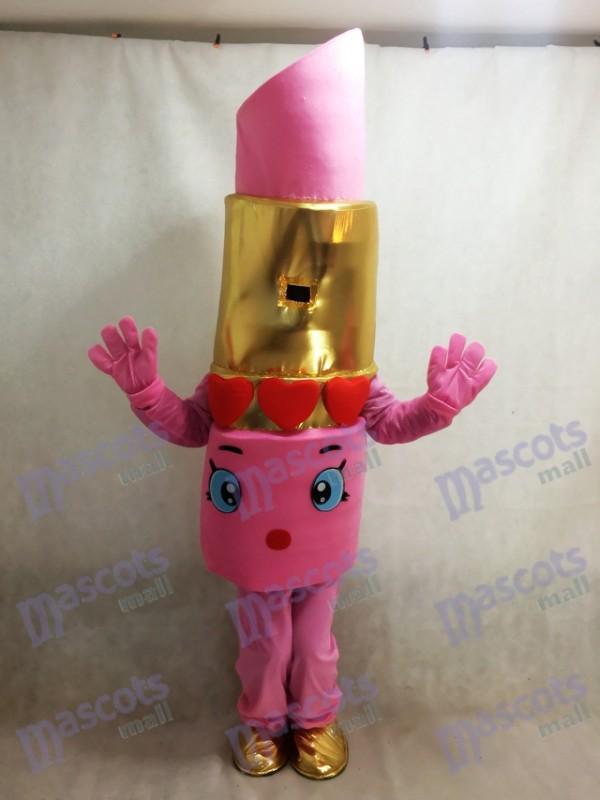 Pink Shopkins Lippy Lips Lipstick Mascot Costume