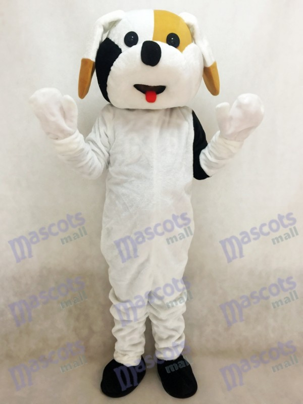 Black and Brown Dog Mascot Adult Costume Animal