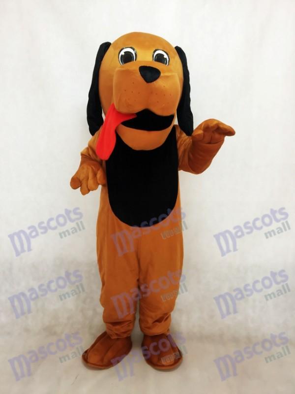 Red Tongue Hound Dog Mascot Costume
