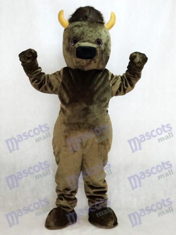 Marshall Thundering Herd Marshall University Marco the Bison Buffalo Mascot Costume