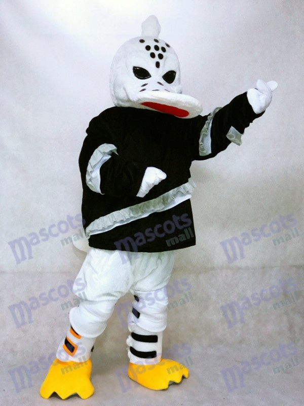 Fierce Wild Wing Duck Mascot Costume Ice Hockey Player Animal