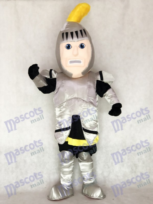 Adult Silver Knight College of St Rose Mascot Costume