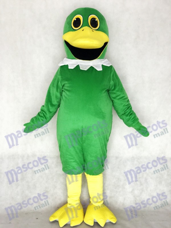 Cute Whole Green Mallard Duck Mascot Costume Animal