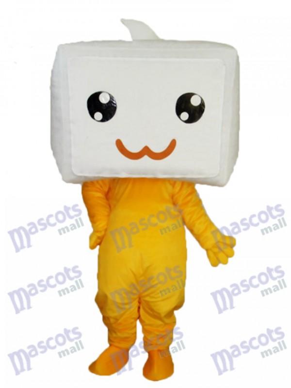 Diamond Changing Face Mascot Adult Costume