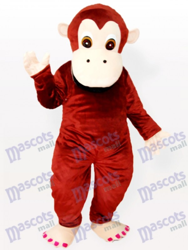 Lovely Chimpanzee Animal Mascot Costume