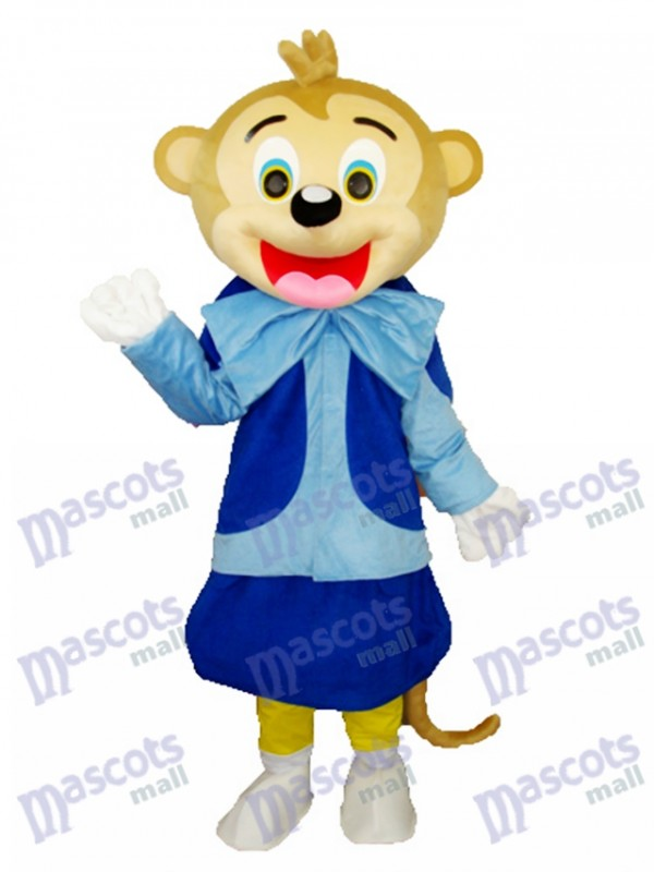 Smart Monkey Adult Mascot Costume