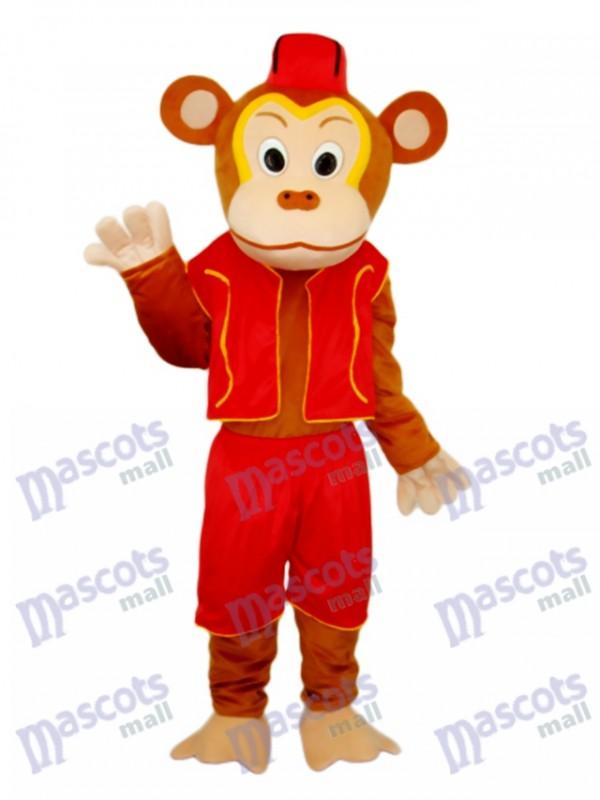 Clown Monkey Mascot Adult Costume
