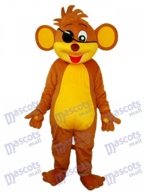 Pirate Monkey Mascot Adult Costume