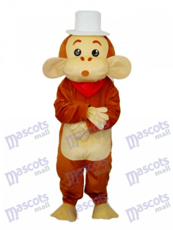 Cap Monkey Mascot Adult Costume