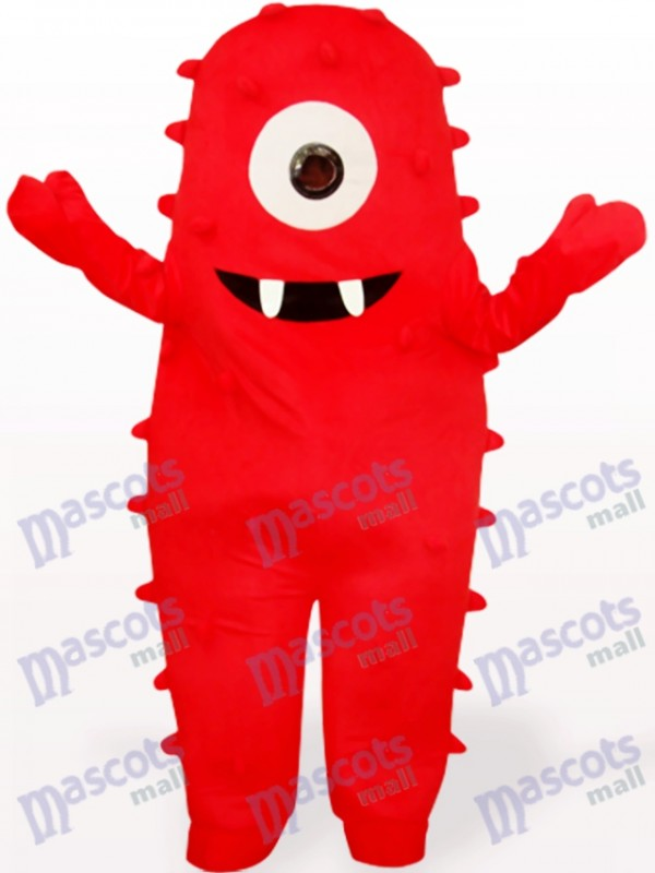 Red Monster Anime Adult Mascot Costume