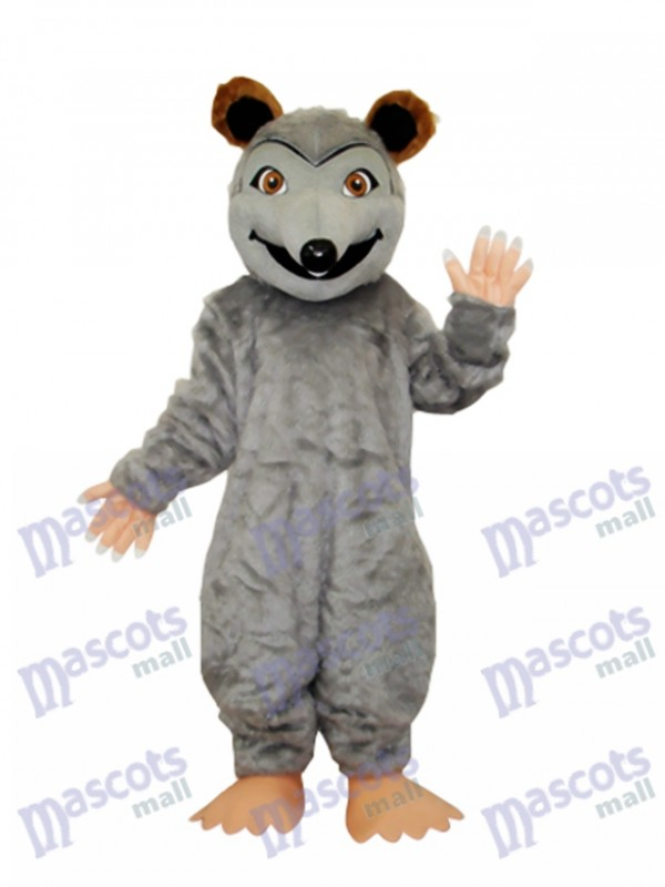 Pointed Snouted Mouse Mascot Costume Animal