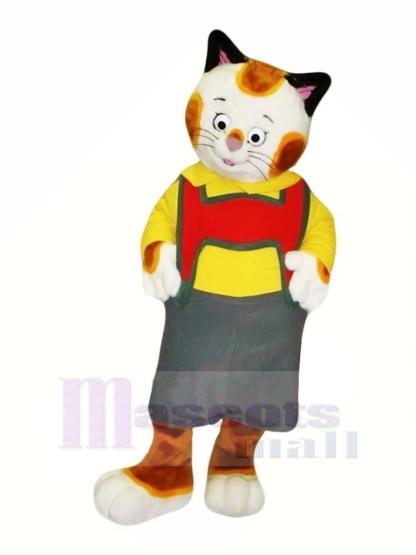 Cute Pattern Cat Mascot Costumes Cartoon
