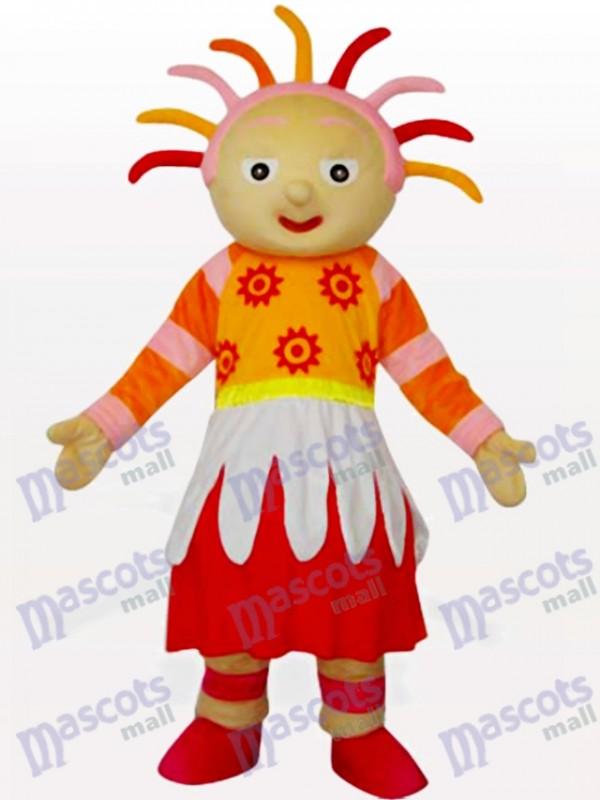 Bright Sunshine Girl Animal Mascot Costume