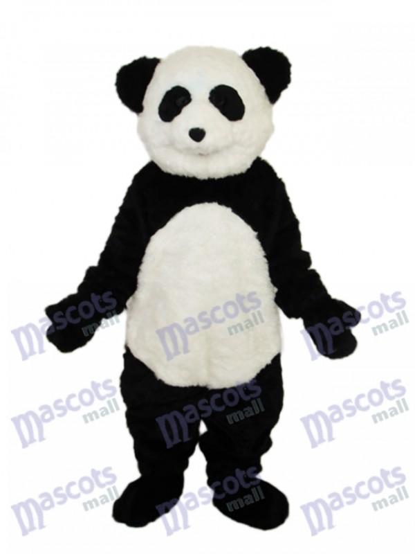Smile Panda Mascot Adult Costume